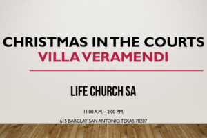 Christmas in the Courts Villa Veramendi 2016