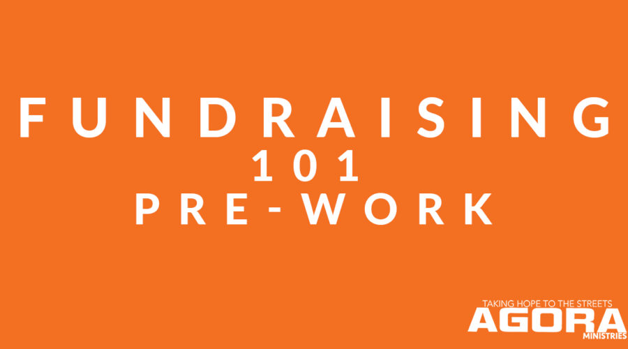 Fundraising 101 Pre-Work